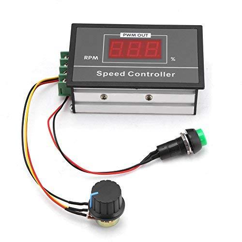 100% True Pwm Dc Motor Speed Controller 12v 24v 36v 48v 60v 10a Aesthetic Appearance Motors & Parts Home Improvement