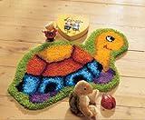 Vervaco Knüpf Teppich Motiv Schildkröte