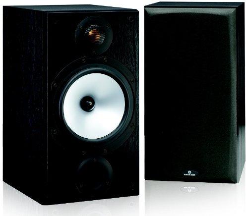 "Monitor Audio MR2Speakers (Black, Floor, Speaker Set Unit, Wired, 42â€""30000Hz)"