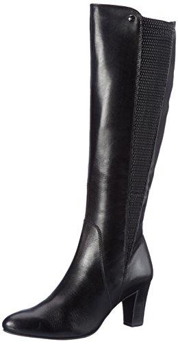 Caprice Damen 25530 Stiefel, Schwarz (22), 38 EU (Heel Stacked Stiefel)
