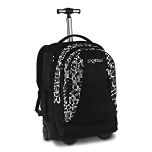 Driver 8 Wheeled Backpack Onboard Trolley Case Blackwhite Sketchy Camo