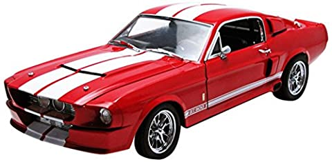 1967 Shelby GT-500 1:18 Scale (Red/White) by Greenlight