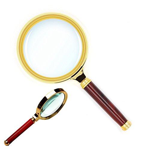 upe Kinder | Lupe 10 | Magnifying Glass | Juwelier Lupe | Lupe 10 Fach Vergrößerung | Lupe 10x | Lupe für Kinder | Große Lupe | Lupe Senioren | Lupe 10fach | Detektiv Lupe ()