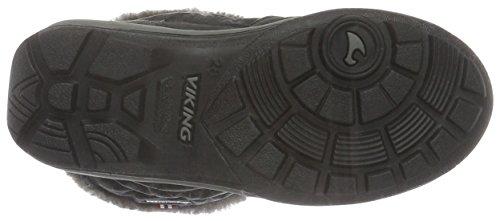 Viking Jade, Bottes de neige fille Noir - Noir (Noir/Gris 203)