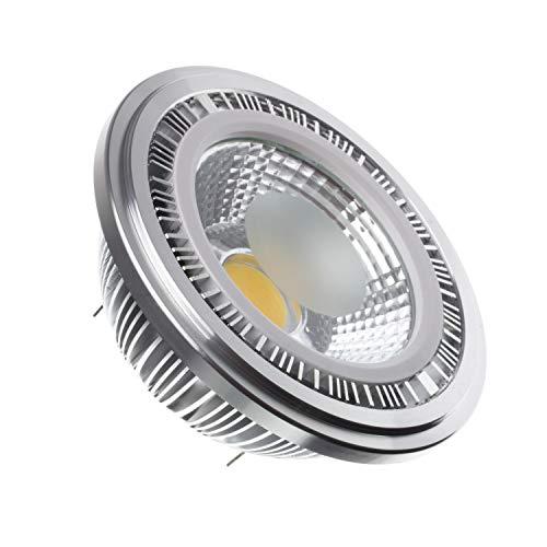 Bombilla LED AR111 12V COB 12W Blanco Frío 6000K