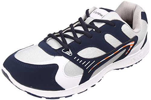 Action Campus Men's COBRA Series Blue Light Gray Synthetic and Nylon Mesh Sports Shoes 11UK  available at amazon for Rs.474