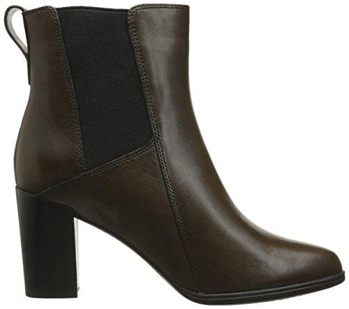 Clarks Kadri Liana Chelsea Boot Khaki Leather