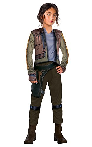 Kostüm Kinder Seal (Rubies Star Wars Rogue One Girls Jyn Erso Deluxe Costume L)