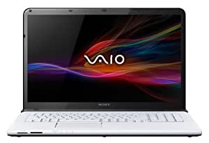 Sony VAIO SVE1713F4EW 43,9 cm (17,3 Zoll) Notebook (Intel Pentium 2020M, 2,4GHz, 6GB RAM, 750GB HDD, Intel HD, DVD, Win 8) weiß