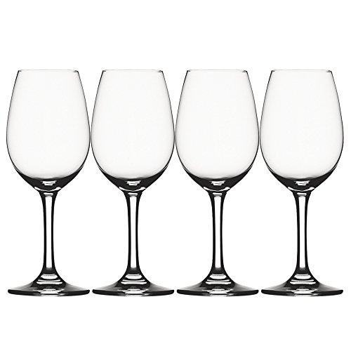 Spiegelau & Nachtmann 4-teiliges Weißweinglas-Set, Kristallglas, 281 ml, Festival, 4020274