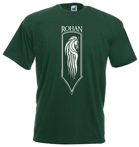 Settantallora - T-shirt Maglietta J725 Cavalieri di Rohan Taglia M