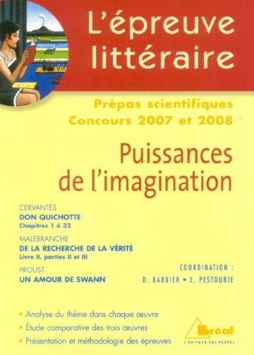 Puissances de l'imagination, L'épreuve Li...