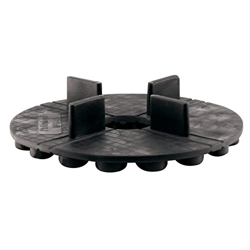 Plattenlager Flex | 10,6 mm Aufbauhöhe | zur Verlegung von Betonplatten und Keramikelementen (Fugenkreuz 3 mm Stärke)