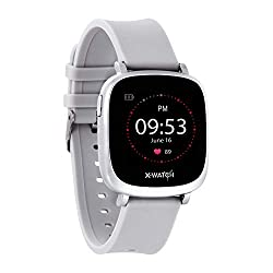 """X-WATCH 54041 IVE XW FIT Fitness Uhr - Fitness-Coach - Fitness Tracker mit Schrittzähler - Schlafanalyse - Workout-Tracker - Pulstracker - Kalorientracker f. Android & iOS - 1,3"""" Touchscreen"""