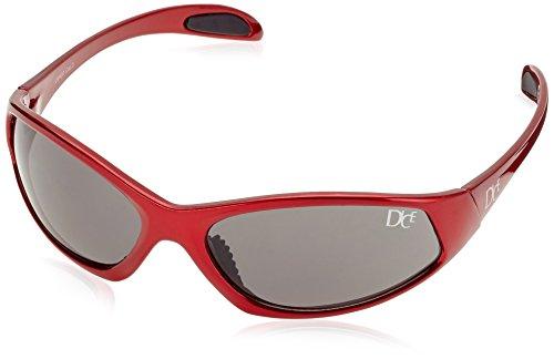 Dice Sport Sonnenbrille D03812 shiny alum red