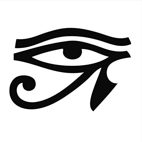 Hwhz 30X44 Cm Alten Ägyptischen Legende Horus Eye Wandaufkleber Schwarz Pvc Abnehmbare Wohnzimmer Wohnkultur - Legendes Halloween