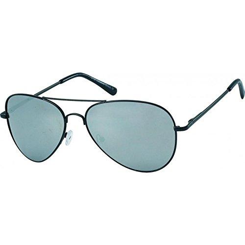 Chic-Net Lunettes de soleil lunettes de soleil aviateur Pornobrille verres miroir nacré miroir 400UV d'argent Uy4AC