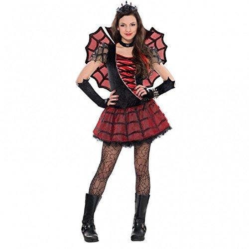 Kostüm Spinne Prinzessin Gr. 158  12-14 Jahre Mädchen Karneval