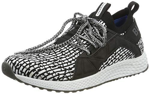 bugatti Herren 342623636959 Slip On Sneaker, Schwarz, 43 EU