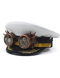 Amazon.it  Bianco - Cappelli da cowboy   Cappelli e cappellini ... bf6c8de3d1f4