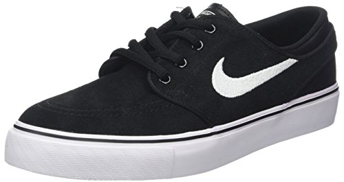 Nike Stefan Janoski (GS), Scarpe da Skateboard Unisex-Bambini, Nero (Black/White-Gum Medium Brown 021), 37.5 EU