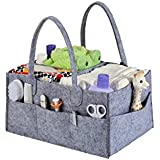 Stuff Me Baby - Portable Diaper Caddy And Baby Wipes Storage Organizer Bin For Home Nursery And Car- Spacious Design 14 X 10 X 7