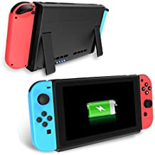 Nintendo Switch Cargador de Baterías, Antank Portable Switch Batería de reserva 6500mAh Extended Travel Power Bank para Nintendo Switch 2017