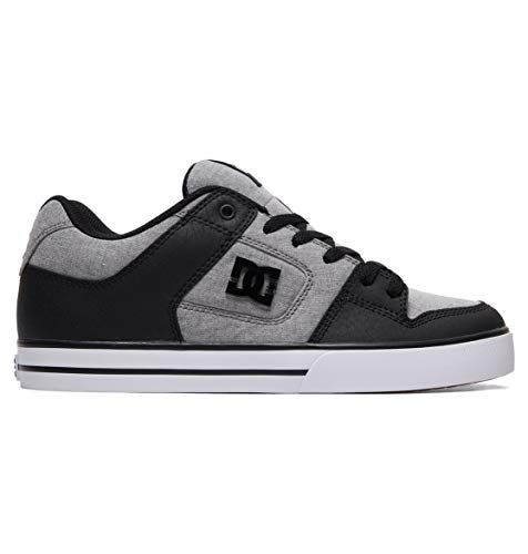 DC Shoes Pure SE - Leather Shoes for Men - Schuhe - Männer - EU 42.5 - Grau -