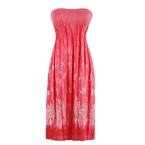 Dissa M1326 femme Rockabilly Robe de Soiré cocktail Robe de Bal Retro Rose