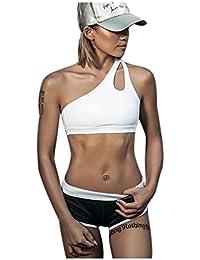 DYLH Brassière Femme Soutiens-Gorge de Sport Creux sans Armature Lingerie  Brassière Fitness Soutiens-Gorge Sportive Bra Yoga… 4646b00ee0a