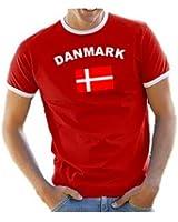 Coole-Fun-T-Shirts Men's T-Shirt Ringer Denmark