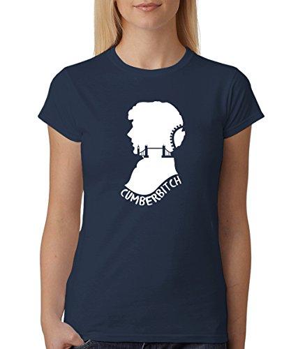 -- Cumberbitch -- Girls T-Shirt Navy