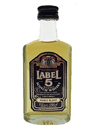 Label 5 Classic Black Blended Scotch Whisky 0,1 Liter