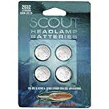 CR2032 Lithium Batteries - 4 Pack