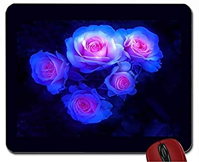 Flower Bed House mouse pad computer mousepad - inexpensive UK light store.