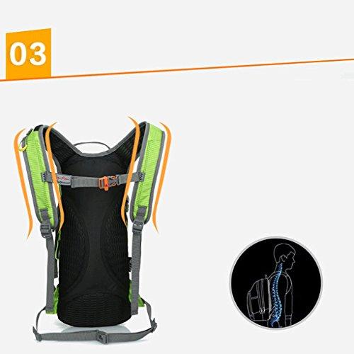 Pathfinder Pioneer atmungsaktive Berg im Freien Fahrradtasche Reiten Rucksack Mountainbike Tasche Umh?ngetasche 15L Schwarz