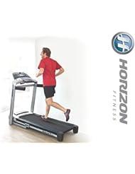 Horizon Fitness Adventure 5 plus Laufband und Polar Brustgurt und Bodenmatte