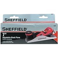 Sheffield 58450 7 Inch Adjustable Block Plane