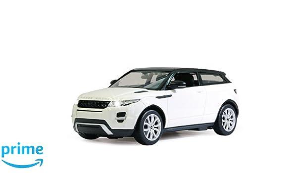 34-1 Welly Range Rover Evoque Model Car Auto License Producto 1 39 Blanco