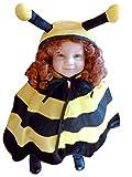 Bienen-Kostüm, AN72/00 Gr. 74-98, für Klein-Kinder, Babies, Bienen-Kostüme Biene Kinder-Kostüme Fasching Karneval, Kleinkinder-Karnevalskostüme, Kinder-Faschingskostüme, Geburtstags-Geschenk