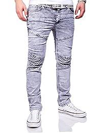MT Styles Jeans Slim Fit pantalon homme RJ-3113
