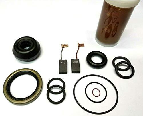 Bosch Service Pack Verschleißteil Satz Wartung Reparatur Set + Fett für GBH 5/40 DCE, GBH 5 DCE, Würth BMH 40-SE, Würth BMH 40-E