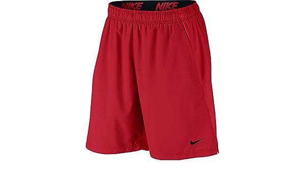 Nike Herren Kurze Hose Flex Training Short, Herren, Univ RedUniversity Red, Small