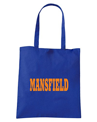 T-Shirtshock - Borsa Shopping WC0773 MANSFIELD Blu Royal
