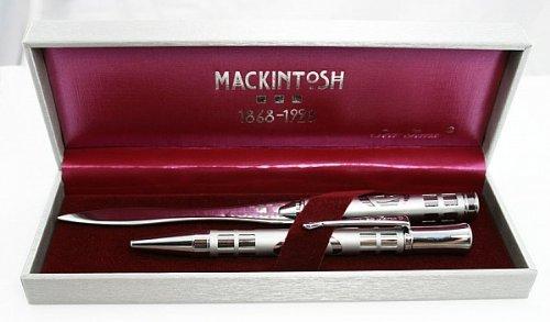 RM Style lettera &-Penna a sfera (SG65) Mens Gifts-Set regalo con (Rennie Mackintosh Gioielleria)