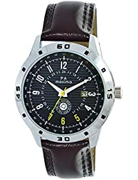 MAXIMA Analog Black Dial Men's Watch - O-52021LMGI