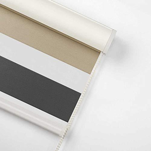YAGEER Lichtvorhang Auslöser Weiche Gaze Vorhänge Verdickung Sonnenschutz Bad Bad Küche Schlafzimmer Jalousien wasserdichte Vorhänge Vorhang (Color : C, Size : 150 * 175cm)