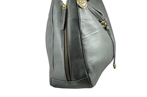 FERETI echtes Leder, Damen Henkeltaschen 8 FARBEN Schultertaschen Bolt-Bags, Handtaschen, Umhängetaschen, Soft Leder Braun,rot braun, (Camel) Grün