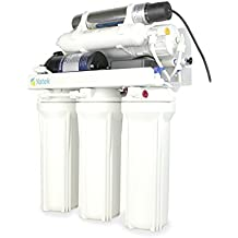 Sistema de osmosis inversa domestica Yatek -C de 6 etapas con lámpara ultravioleta
