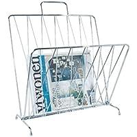 Present Time Zeitschriftenständer Stahl Chrom
